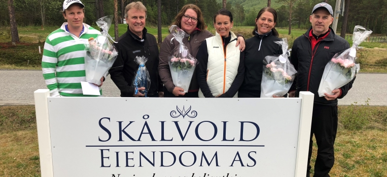 Resultater Skålvold Eiendom Vårsleppet 2018