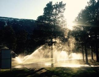 Vanningsanlegget – info om manuell vanning